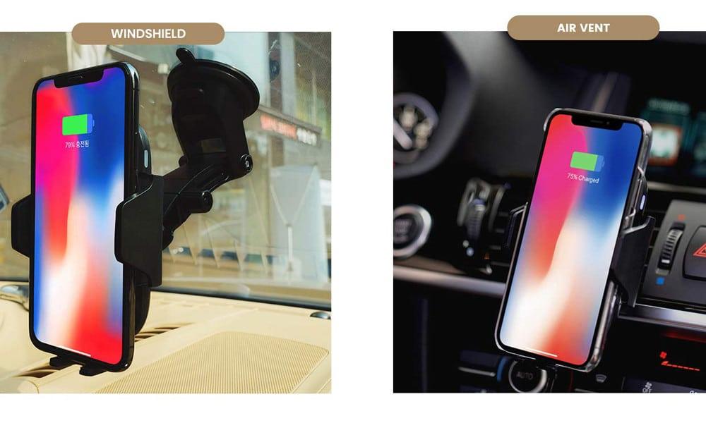 Gazeon Qi Wireless Car Charger