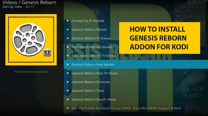How to Instal Genesis Reborn