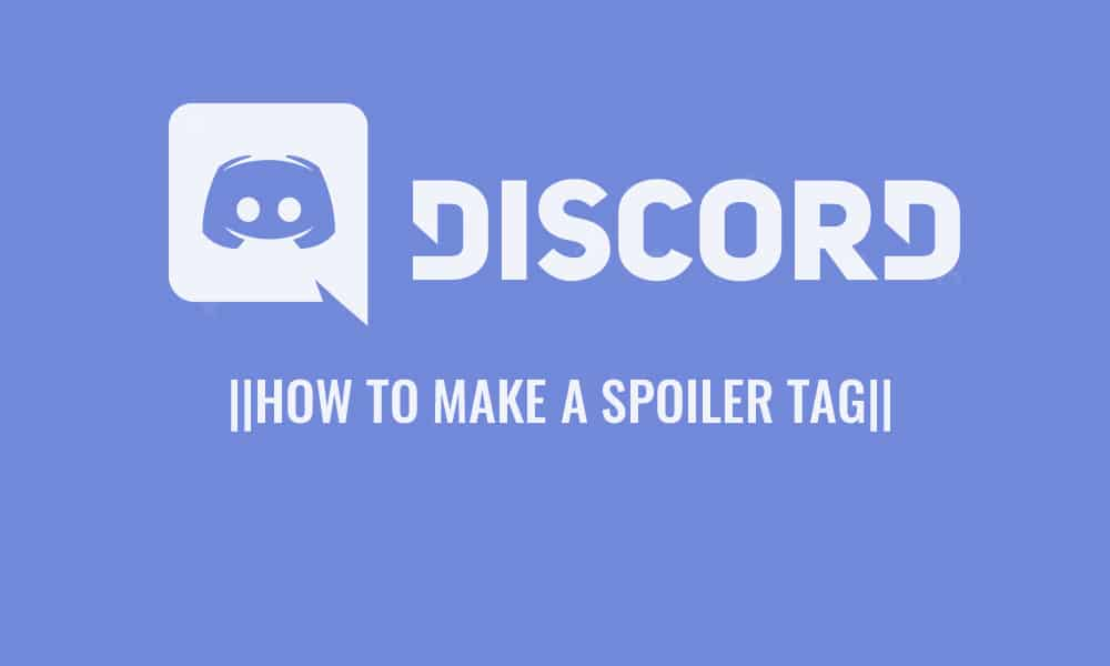 How To Make a Spoiler Tag