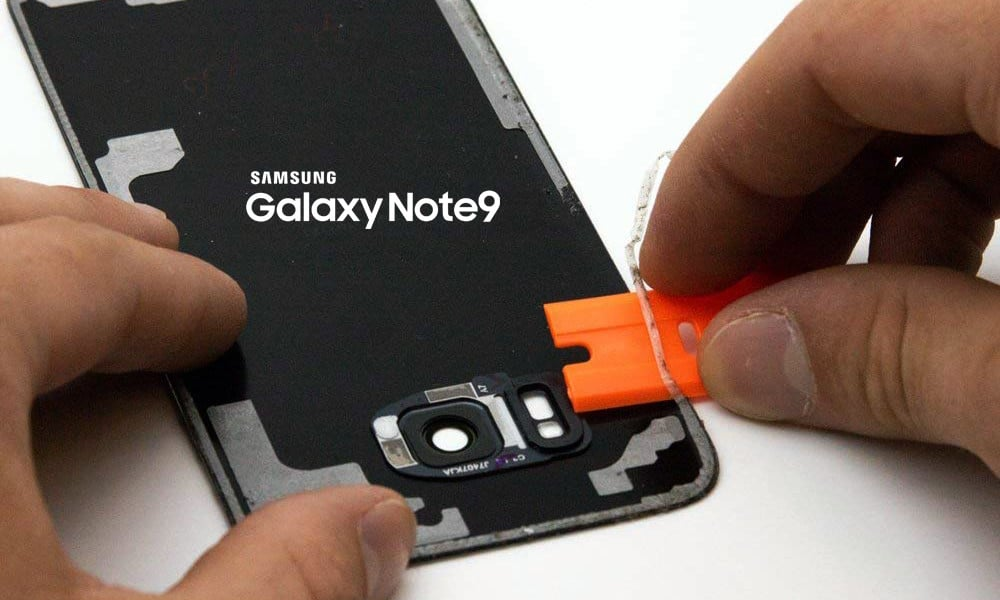 How to Repair Galaxy Note 9 Screen