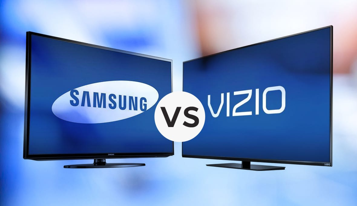 samsung vs vizio who really makes the best tv s vizio or samsung