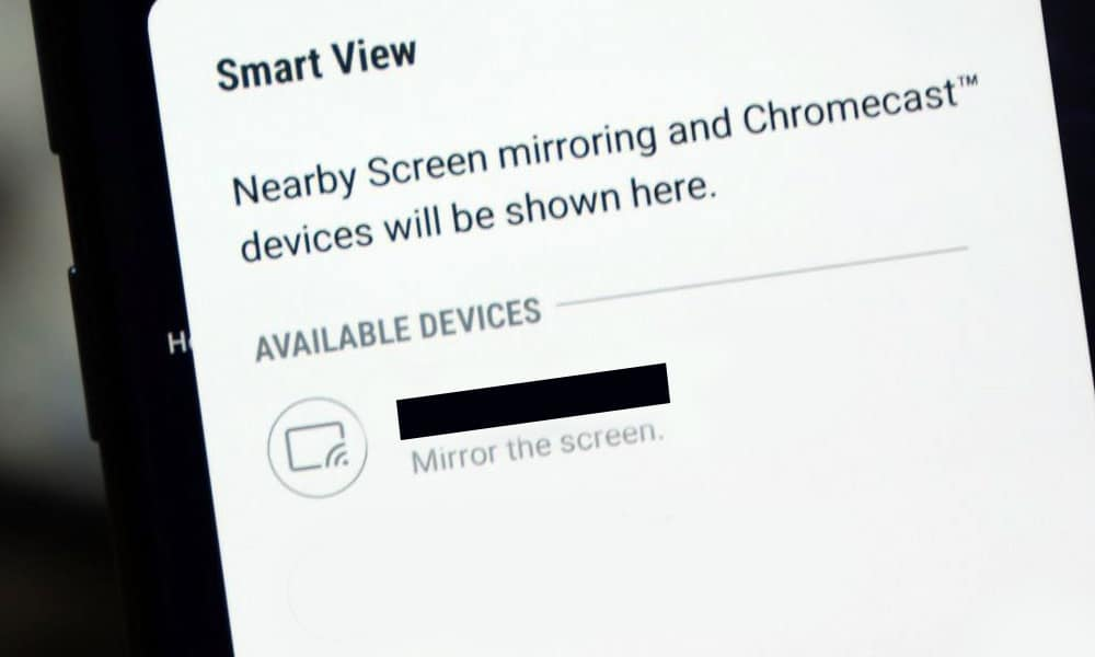 How to Activate Screen Mirror to Your Television with Galaxy Note 9