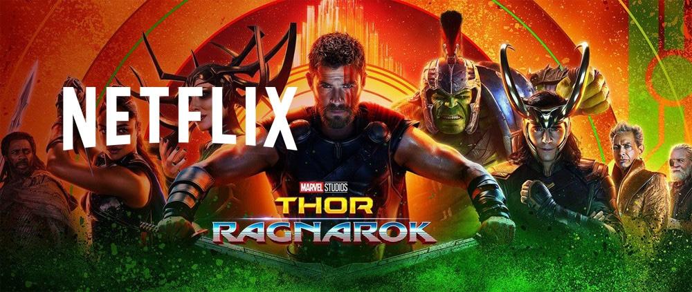 Thor:Ragnarokreleased onNetflix