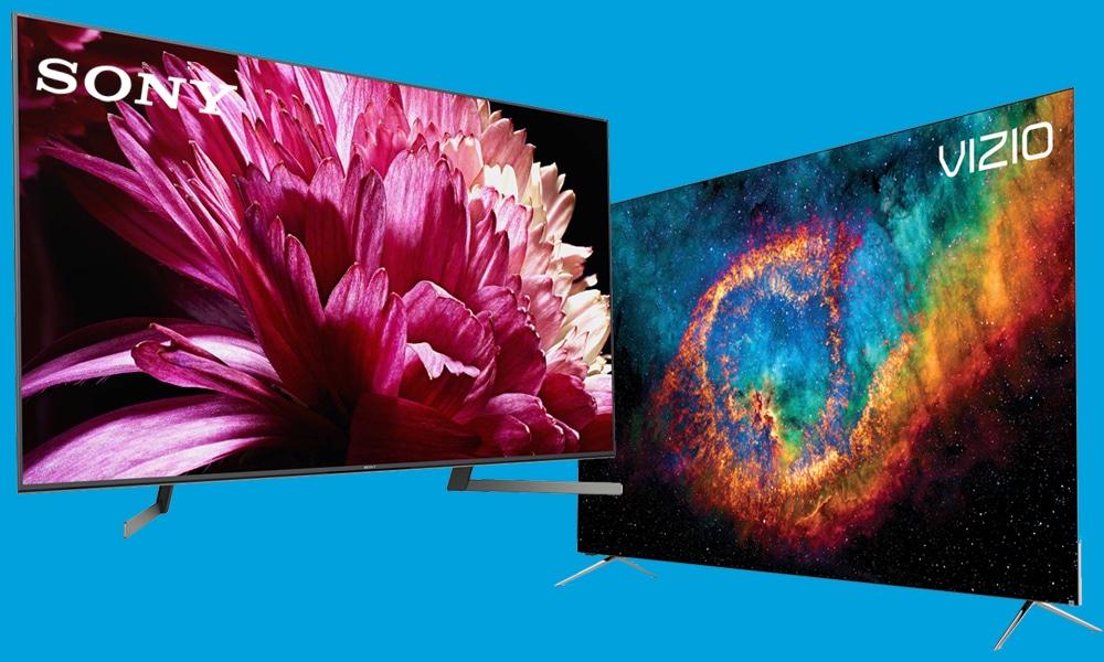 Vizio vs Sony 4K TVs